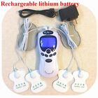 TENS Unit Rechargeable Massager Therapy Acupuncture pads foot tea pad Mass A