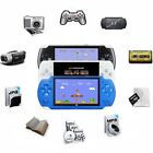 console portable - 32Bit 10000 Games Built-In Portable Handheld Video Game Console Player 8GB 4.3''