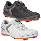Ecco 2017 Mens Cage Boa Lace Waterproof Performance Golf Shoes