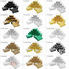 """(12) Jewelry Gift Boxes Cardboard Cotton Filled 3 1/4"""" x 2 1/4"""" x 1""""H"""