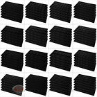 (5) Black Compartment Flocked Display Inserts For Jewelry Cases and Trays