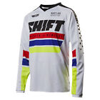 2017 Shift MX Mens Recon Jersey - Phoenix White Motocross Offroad Trail Enduro