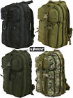 Army Combat Military Delta Day Pack Travel Rucksack Backpack Black Molle BTP 30L