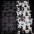 Storm trooper Star wars fabric 8 ACA regulation custom Cornhole  Party bags $29.99 USD on eBay