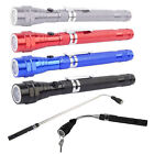Flexible Torch 3LED 360° Magnetic Telescopic Pick Up Tool Light Flashlight Lamp