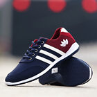 New Fashion Mens Sneakers Breathable Canvas Running Athletic Sport Casual Shoes
