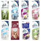 GLADE SENSE AND SPRAY REFILLS AUTOMATIC AIR FRESHENER 8 SCENTS TO CHOOSE