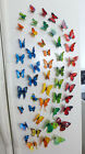 Butterfly Refrigerator Magnets 3 D Wall Sticker(different Sets For Select)