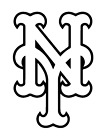 Decal Vinyl Truck Car Sticker - MLB Baseball New York Mets on Ebay