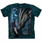 NEW ONCE UPON A TIME DRAGON Fantasy Fairytale Anne Stokes The Mountain T Shirt