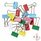 Assorted Foldback Clips 19mm Bulldog Clips