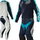 NEW TROY LEE DESIGNS SE PRO CORSE MX DIRT BIKE GEAR COMBO NAVY SIZE 32/LARGE