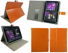 """Stylish New Universal Wallet Case Cover with stand fits 8"""" inch Tablet & Stylus"""