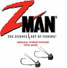 Z-MAN FINESSE SHROOMZ WEEDLESS, CHOICE OF SIZE & COLORS