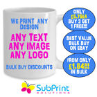 Personalised Printed Mug,Any Image,Logo,name or text-BUY 3 GET 1 FREE! Bulk buy