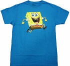 SpongeBob - Sponge Bob Reversable Adult T-Shirt - Cartoon Comedy Family Tee