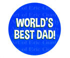 best cookie sheets - World's Best Dad Father's Day ~ Frosting Sheet Cake Topper ~ Edible ~ D22331