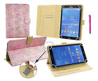Universal Wallet Case Cover fits Pyle PTBL73BCDEU Tablet PC 7 Inch