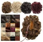 NEW LADIES CURLY CLAW CLIP IN CLAMP SYNTHETIC HAIR BUN UP STYLE HAIR PIECE KOKO