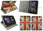 Universal Wallet Case Cover Stand fits iROLA DX758 Pro Tablet PC 7 Inch
