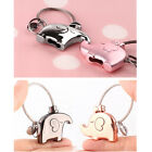 1PCS Lovely Creative Couple Holiday Key Chain Metal Pendant Gift Car Ring