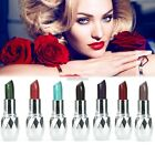 Women 7 Color Makeup Moisture Shimmer Lipstick Full Size Lip Stick AU N98B