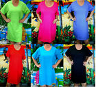 Ladies Coverup Nightshirt With Pockets Cover-up Long Shirt
