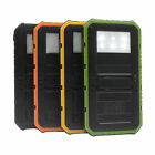 Portable 20000mAh 6LED Solar Power Bank External 2USB Universal Battery Charger