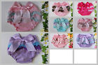 Baby Bloomers Girl Cotton Frilly Nappy Cover Pants Shorts Newborn Photo Prop