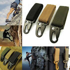 Military Nylon Key Hook Webbing Molle Buckle Outdoor Hanging Belt Clip Carabiner