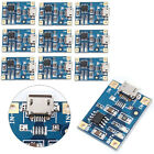 10PCS Micro USB 1A Lithium Battery Charger Module Battery Charging Board TP4056
