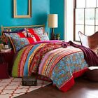 Colorful Bohemian Duvet Covers Full Queen Size Exotic Boho Bedding