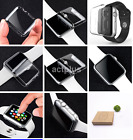 Tempered Glass Screen Protector+Ultra Thin TPU Case For Apple Watch  38/42mm US