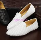 2017 Mens Round toe Breathable Loafer Slip On moccasin-gommino Casual shoes Size