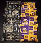 NEW ORLEANS SAINTS & LSU TIGERS 8 ACA Regulation Cornhole Bags Game Toss Bags on eBay
