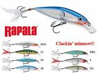 RAPALA  CLACKIN' MINNOW, CHOICE OF MODEL AND COLORS