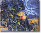 HUGE Cezanne Le Chateau Noir Stretched Canvas Giclee Art Print Repro ALL SIZES