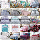 Duvet Cover with Pillow Case Quilt Cover Bedding Set Single Double King All Size image
