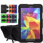 "Hybrid Rugged Armor Cover Stand Case For Samsung Galaxy Tab A 7"" 8.0"" 9.7"" 10.1"""