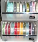 "Retired Stampin' RIBBON 3/8"", color/style vary, 10 yd rolls-full rolls-you pick!"