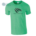 I Have a Dark Side Mens Funny Monster Claw T-Shirt Breaking Out
