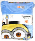 Despicable Me Minion 2pc Fleece Pajama Set Adult sizes New w/tags