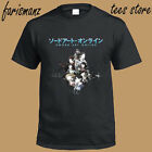 shirt purchase online - New Sword Art Online Ordinal Scale Anime Movie Men's Black T-Shirt Size S to 3XL