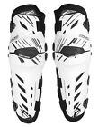 NEW LEATT BRACE DUAL AXIS KNEE GUARDS MX DIR BIKE OFFROAD PROTECTION WHITE PAIR