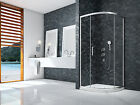 MERLYN IONIC ESSENCE FRAMED 900mm 1 DOOR QUADRANT SHOWER 8mm GLASS ENCLOSURE NEW