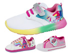Trolls Poppy Skate Shoes Pink Sports Trainers Flat Pumps Shoes Girls Kids Size