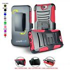 Refined Armor Cover & Swivel Holster Belt Clip Phone Case For [htc One A9] Only