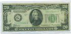 1934 A $20 FEDERAL RESERVE NOTE CLEVELAND DISTRICT