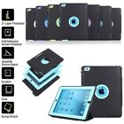 360° Heavy Duty Shockproof Case Sleep Wake Stand Flip Smart Cover For All Ipad