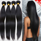 7A Best REMY Virgin Human Hair 100% Unprocessed Indian Brazilian 300g 1-3Bundles